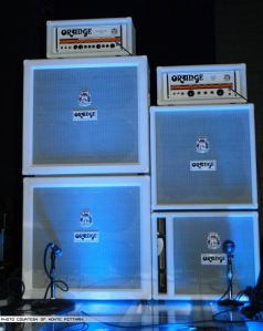 Orange Amps for Confessions Tour