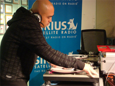 DJ Enferno at Sirius