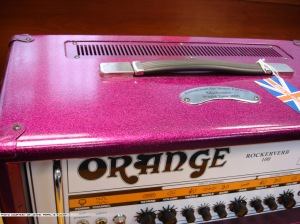 Orange amp (Confessions Promo)
