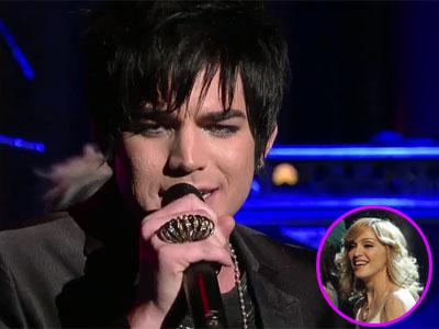 Adam Lambert & Madonna=total hotness!