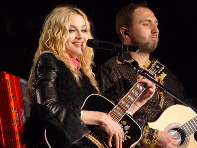 "Madonna & Monte Pittman co-wrote ""It's so cool"" along with Mirwais"