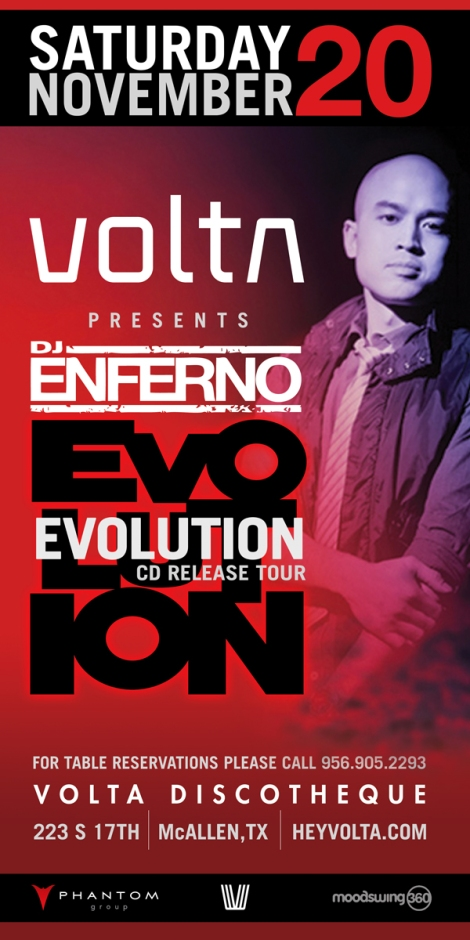 DJ Enferno - Evolution Tour