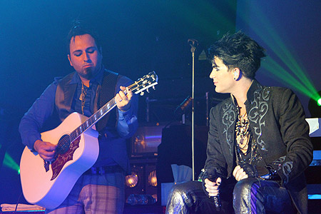 "Monte Pittman & Adam Lambert perform ""Aftermath"""