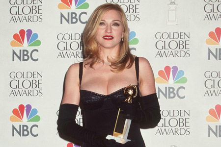 "Madonna won the Golden Globe for ""Best Actress"" in 1997"