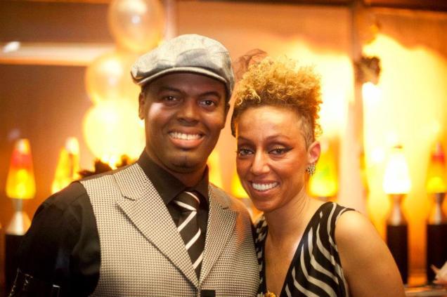 Ric'key Pageot & Dessy Di Lauro (Photo courtesy Jello Martini Lounge)