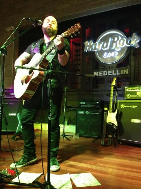 Monte Pittman @ Hard Rock Cafe Medellin