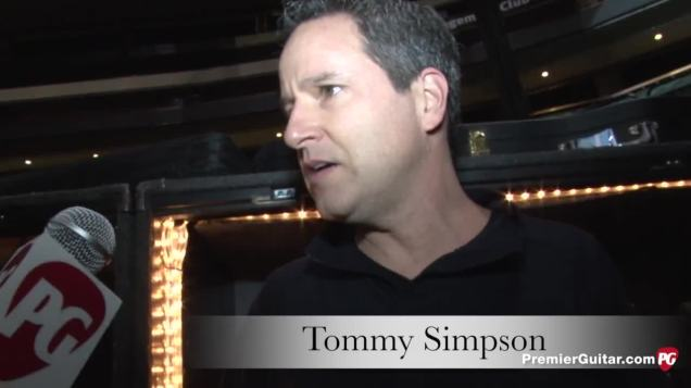 Monte and Madonna's guitar tech: Tommy Simpson