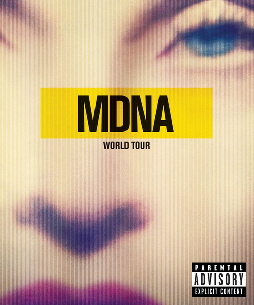 MDNA Tour DVD Cover